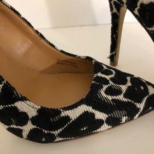 J. Crew Shoes - J. CREW   Gabbie textured leopard pumps heels